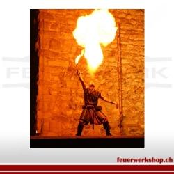 Klassische Feuershow 5-10 Minuten