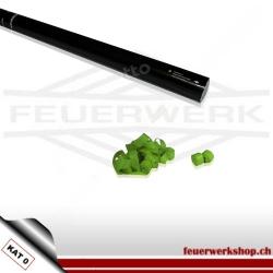 Luftschlangen Shooter 80cm - Papier hellgrün