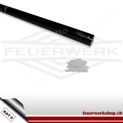 Konfetti-Shooter 80cm - Slowfall Papier Weiss