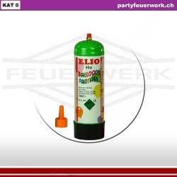 Einwegflasche Helium