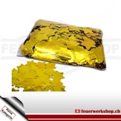 Slow Fall Konfetti: Gold Metallic Sterne