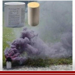 Rauchpatrone AX-60-Set, Schwarz