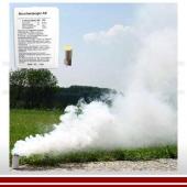 Rauchpatrone AX-3, Parfümiert, weiss