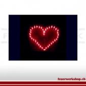 Brennendes Herz (Outdoor - von uns gezündet)