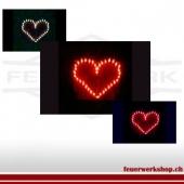 Brennendes Herz (Indoor - von uns gezündet)