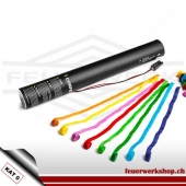 Elektr. Luftschlangen-Kanone 40cm - Papier multicolor