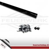 Luftschlangen Shooter 80cm - Metallic Silber