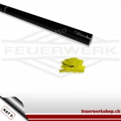 Konfetti-Shooter 80cm - Slowfall Papier Gelb