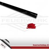 Konfetti-Shooter 80cm - Slowfall Papier Rot