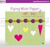 Flying Wish Paper - Motiv Hearts II