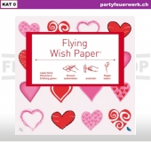 Flying Wish Paper - Motiv Mini Hearts