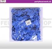 Papierkonfetti blau