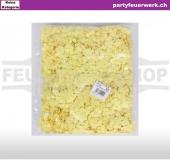 Papierkonfetti gelb