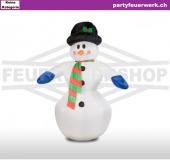 Schneemann aufblasbar zur Miete