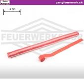 Streamer (Luftschlangen extra breit) Papier - rot