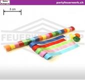 Extrabreite Luftschlangen Papier - bunt