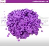 Papierkonfetti lila