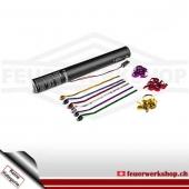 Elektrische Luftschlangen-Kanone 40cm - Metallic Multicolor