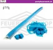Kleine Streamer (Luftschlangen) Papier - blau