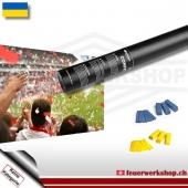 Fan-Konfetti-Shooter für Ukraine
