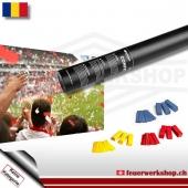 Fan-Konfetti-Shooter für Rumänien
