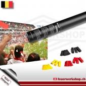 Fan-Konfetti-Shooter für Belgien