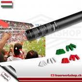 Fan-Konfetti-Shooter für Ungarn