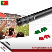 Fan-Konfetti-Shooter für Portugal
