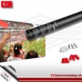Fan-Konfetti-Shooter für die Türkei