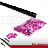Konfetti Shooter 80cm - metallic Slowfall pink
