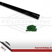 Konfetti-Shooter 80cm - Slowfall Papier grün