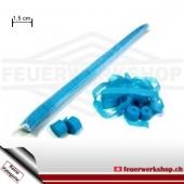 Papier Luftschlangen (Streamer) blau - lose (klein)